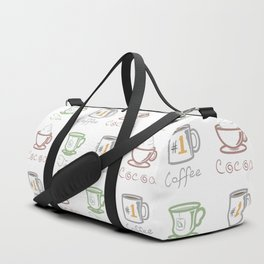 Hot Drinks (Color) Duffle Bag