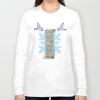fairy tale Long Sleeve T-shirts featuring Fairy Tale by VirgoSpice
