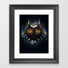 Epic Pure Evil of Majora's Mask Framed Art Print