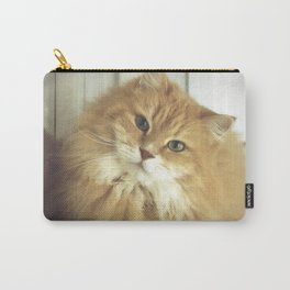 Siberian cat. Portrait of Mr. Cesare Carry-All Pouch