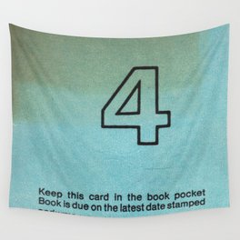 Ilium Public Library Card No. 4 Wall Tapestry