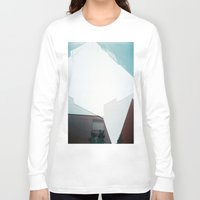 buildings Long Sleeve T-shirts featuring buildings by mala.lalala