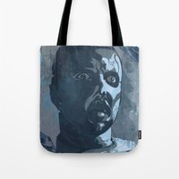 leon Tote Bags featuring Leon Kowalski by Beery Method