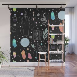 Crystal Witch Starter Kit - Illustration Wall Mural