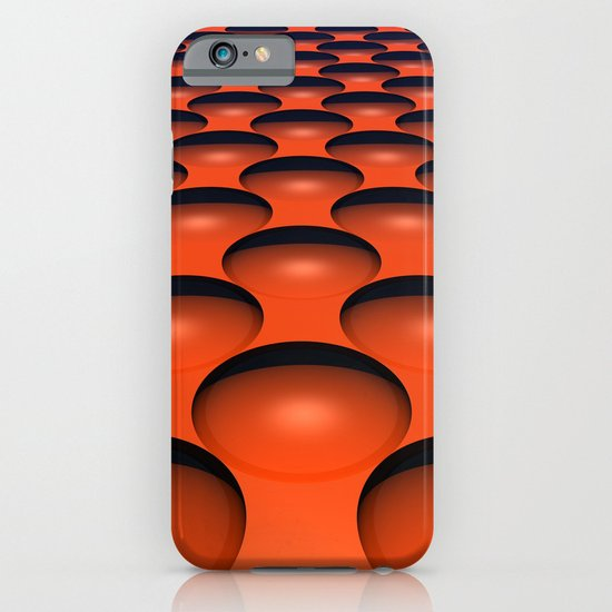 Orange Dimples iPhone & iPod Case