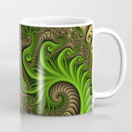 Fantasy World II, Abstract Fractal Art Coffee Mug