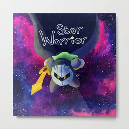 The Star Warrior Metal Print