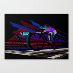 Illustration Graphic Design: Finish Line Canvas Print