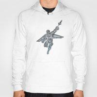 hawk Hoodies featuring Hawk by design beast