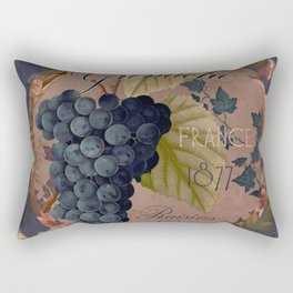 Wines of France Grenache Rectangular Pillow