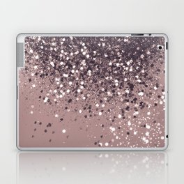 Sparkling Mauve Lady Glitter #3 #shiny #decor #art #society6 Laptop & iPad Skin