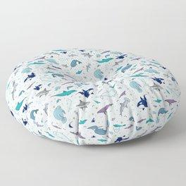 Ocean Animals Floor Pillow