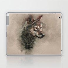 European Wolf Laptop & iPad Skin