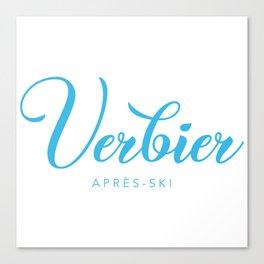 VERBIER Canvas Print