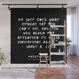 31 | Keep Going Quotes 190512 Wall Mural