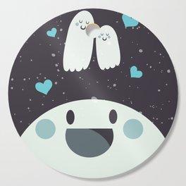 Loving Ghosts Cutting Board