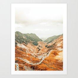 Mountainside Story #photography #nature Art Print