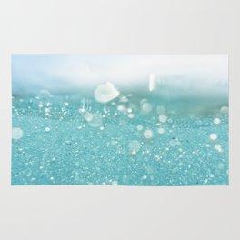 Undersea bubbles Rug