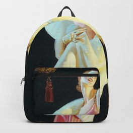Joseph Christian Leyendecker - Couple Going Down The Stairs - Digital Remastered Edition Backpack