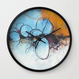 Simmering Wall Clock