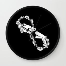 Love to Infinity Wall Clock