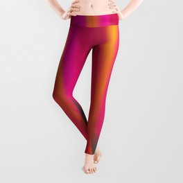 Vibrant Melted Pink Leggings