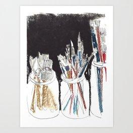 atelier III Art Print