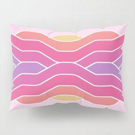 Sunset lo-fi mood Pillow Sham