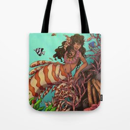 Tropical Beauty Tote Bag