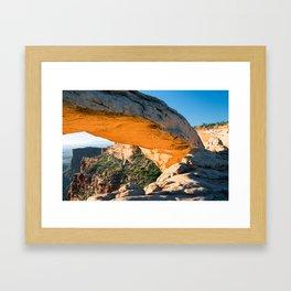 Golden Arch Framed Art Print