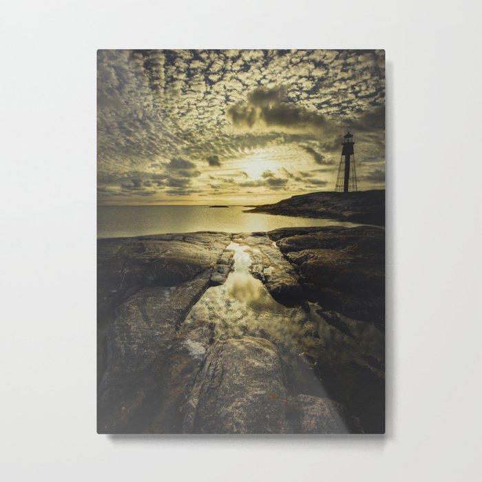 Good night sweet sun Metal Print
