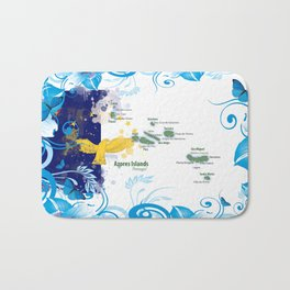 Azores islands, Portugal Bath Mat