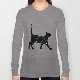 Aquarius Cat Long Sleeve T-shirt