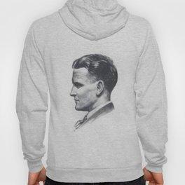 A portrait of F Scott Fitzgerald Hoody