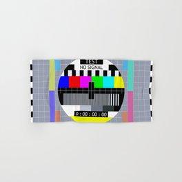 Retro TV Test Pattern Hand & Bath Towel