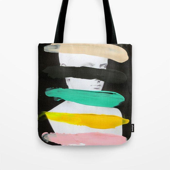 Untitled (Finger Paint 1) Tote Bag