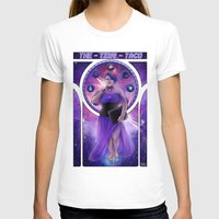 mucha T-shirts featuring Mucha Taco by thetinytaco