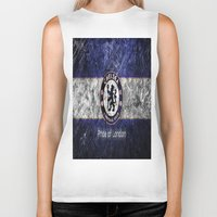 chelsea Biker Tanks featuring CHELSEA by Acus