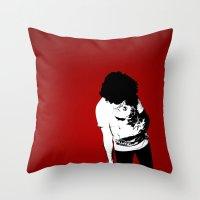 madonna Throw Pillows featuring Madonna by elvisbr