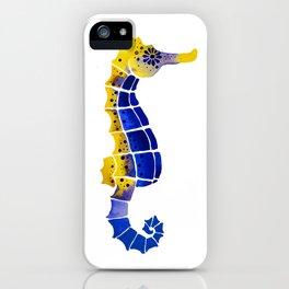 Seahorses iPhone Case