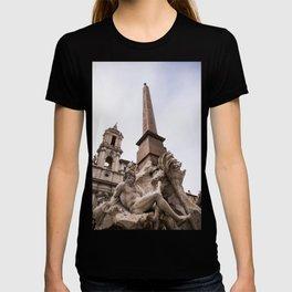 Fontana dei quattro fiumi - Ganges T-shirt
