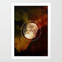 The Fifth Bowl   3•1 Art Print