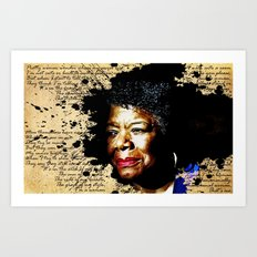 Phenomenal Woman Art Print