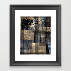 Sun Forest Framed Art Print