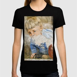 Murales in Flussio on the Isle of Sardinia T-shirt