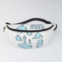 Potions Bottles Design — Apothecary Glass Jars Illustration Fanny Pack