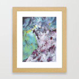 The Mountain by Lagoon Nebula Framed Art Print
