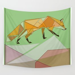 Silent Observer Wall Tapestry