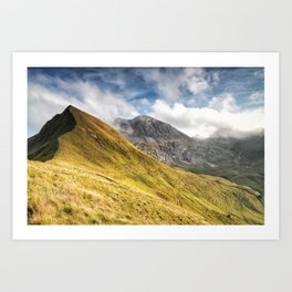 Mountain beauty Art Print