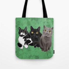 Poohkie, Mer, and Bart Tote Bag